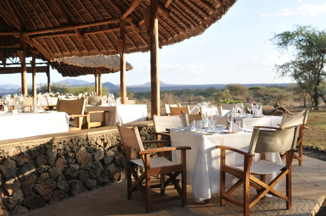 Out of Africa Restaurant - Kenia -
