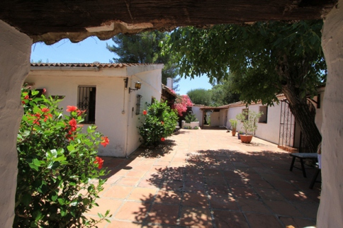 Finca-Hotel mit Pool in Andalusien