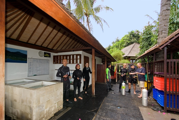 Unser Dive-Center - Indonesien -