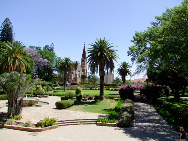 Parlament Gardens in Windhoek - Namibia -