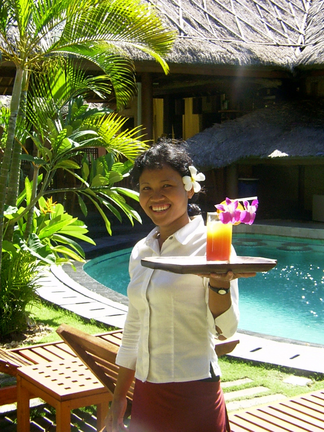 Drink am Pool gefällig? - Indonesien -