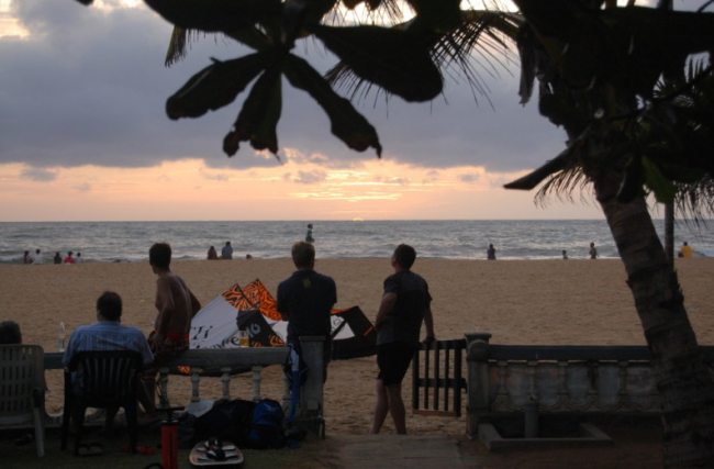 Abends am Negombo Beach  - Sri Lanka -