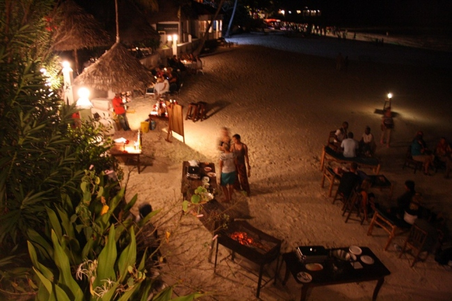 BBQ in der Lodge - Tansania -