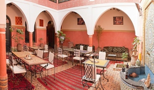 Ruhiges Hotel mitten in Marrakesch