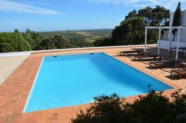 Pool mit Weitblick - Portugal -