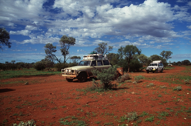 Canning Stock Route Convoy - Australien -