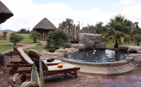 Bed & Breakfast mit Pool nahe Johannesburg
