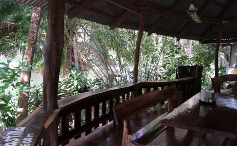 Finca mit Bungalows am Fluss Sapoa
