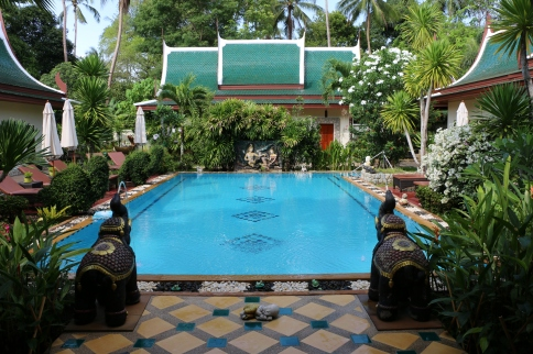 Stilvolles Deluxe Bed and Breakfast auf Phuket strandnah