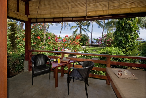 Bungalow-Terrasse - Indonesien -