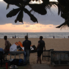 Abends am Negombo Beach