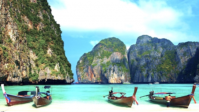 Unsere Inselausflüge - u.a. Phi Phi Island  - Thailand -